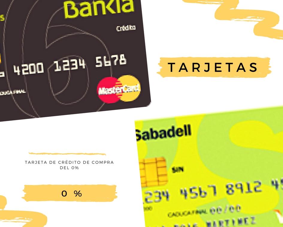 Las mejores tarjetas de crédito sin intereses